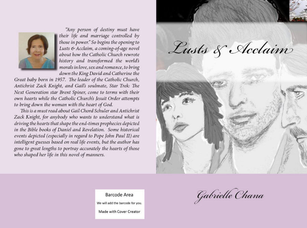Lusts and Acclaim CreateSpaceCover
