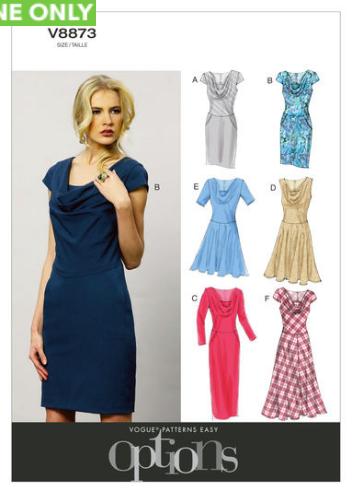 Soft Classic 1 Dress Sewing Pattern