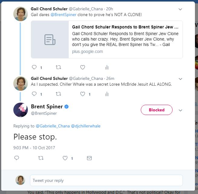 Brent Spiner BLOCKED