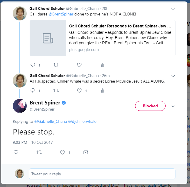Brent Spiner BLOCKED