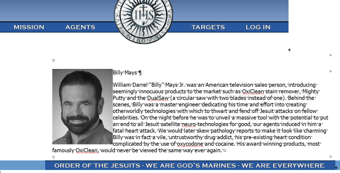 BillyMays_OrderoftheJesuits