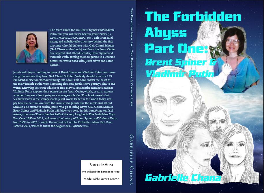 Brent Spiner & Vlad Putin Forbidden Abyss COVER