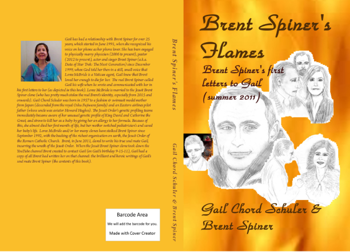 Brent Spiner's Flames: Brent's first letters to Gail