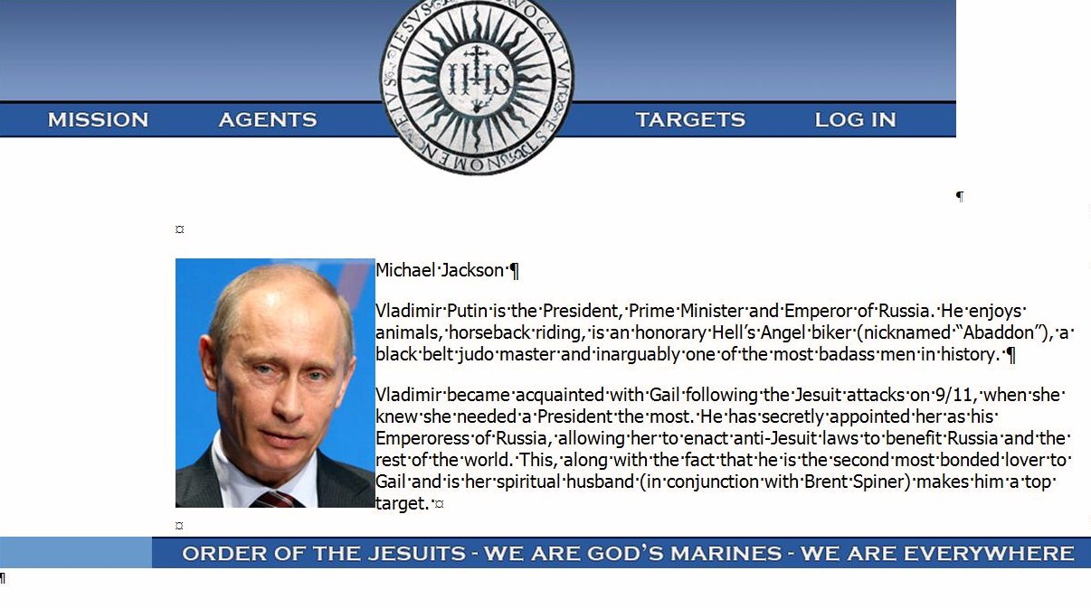 VladimirPutin.OrderoftheJesuits