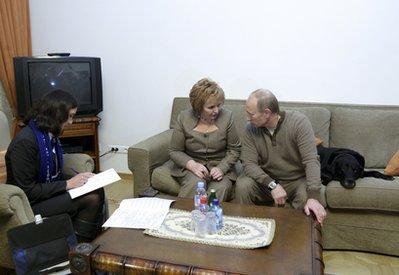 Vladimir Putin, Lyudmila Putina
