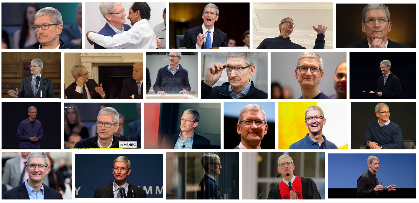 CEO Tim Cook photos
