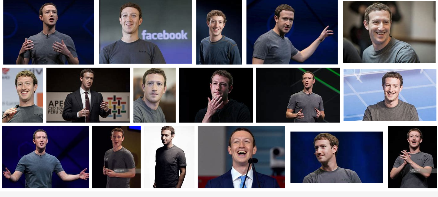 Mark Zuckerberg CEO photos