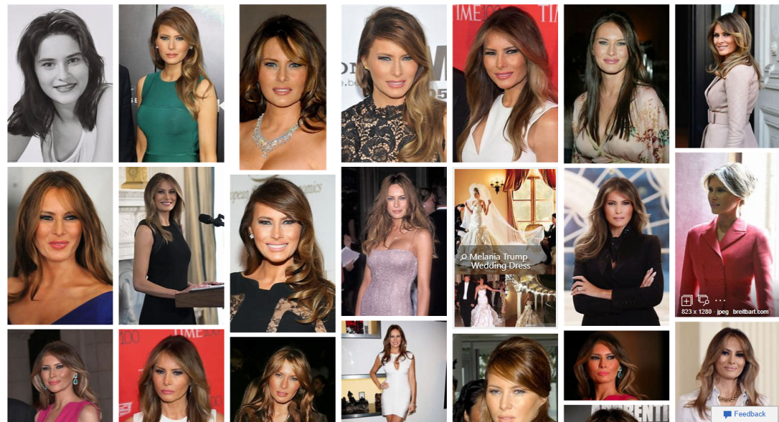 Melania Trump photos