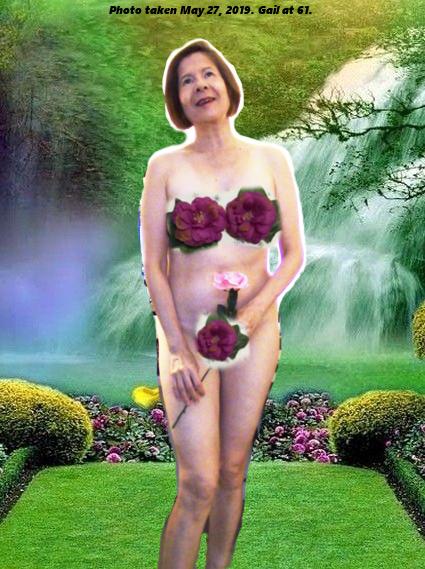 Gail 2 Green Background