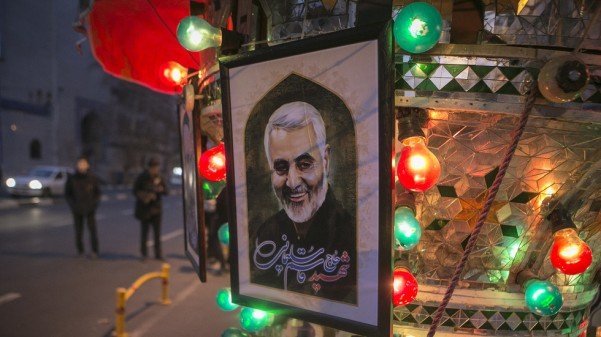 Qasem Soleimani was on Empress Gail's marriage list